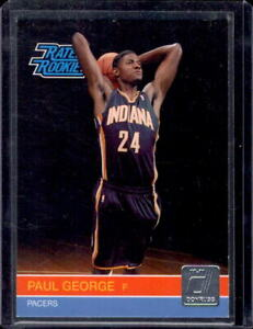 PAUL GEORGE 2010-11 Donruss #237 Rated Rookie SP RC Los Angeles Clippers