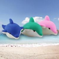 1X Cartoon Creative Dolphin Rubber Pencil Eraser Office Stationery Gift S Gift s