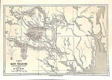 NORVEGE NORGE TELEMARK CARTE MAP & VALLEE DU BOLKESJO GRAVURE ENGRAVING 1860