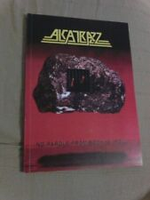 ALCATRAZZ - NO PAROLE FROM ROCK N ROLL - TAB BOOK Becker - Malmsteen - Vai