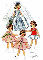 Betsy McCall Lingerie Lou Doll Clothes PATTERN 2323 for 14 inch Slender dolls