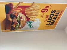 Travis Scott Meal McDonald's poster perfect condition