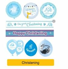 Decorazioni blu per feste e party battesimo