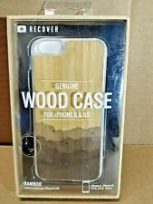 Recover Genuine Wood Bamboo Case for iPhone 6 & 6S