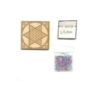 Kit - Chinese Checkers  TY107 - dollhouse miniature Dragonfly 1/12 scale