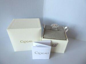 Clogau Gold, Silver & Rose Gold Tudor Rose Ring Size L RRP £129