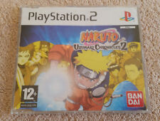 ps2 not for resale . promo only . press édition / NARUTO UZUMAKI CHRONICLES 2