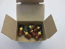 "Prestolok 6LJ65 1/4"" Male Connector, 14mm Thread (Box of 6)"