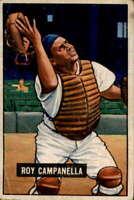 1951 Bowman #31 Roy Campanella VG/VGEX Dodgers 400244