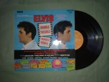 ELVIS PRESLEY DOUBLE TROUBLE LP (EX) (FRENCH ISSUE) 1967