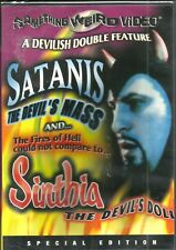 Satanis/Sinthia. RARE doco/horror twin set. Brand New In Shrink!