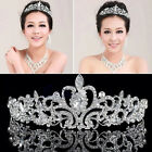 Tiara Wedding Bridal Princess Austrian Stunning Crystal Hair Crown Veil Headband