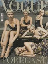 Vogue Italien Naomi Campbell, Eva Herzogiva, Karen Elson,Jessica Stam