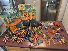 Huge Lot of He-Man MOTU Original Vintage Action Figures Vehicles Accessories NR!