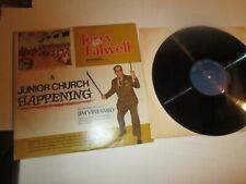 JERRY FALWELL JUNIOR CHURCH HAPPENING LP WITH JIM VINEYARD 1972 DAVID + GOLIATH