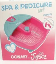 Conair Justice Spa and Pedicure Set with toe touch control heat and vibration