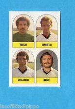 CALCIO-LAMPO 1980-FLASH-Figurina n.82- RECCHI+BENEDETTI+MADDE'+...-CESENA-Rec