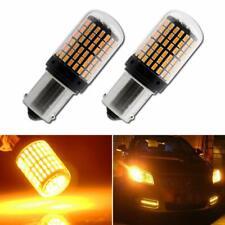 No Error Turn Signal Light BAU15S 7507 PY21W 5009 Canbus Led Bulb Amber Blinker