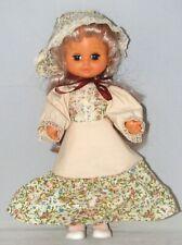 """PLAYMATES 11"""" Vinyl Doll Vintage 1960s Pioneer PRAIRIE GIRL"""