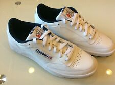 Reebok Classic Club  C85 Mens White Navy Leather Sneakers Size 11 $58.00