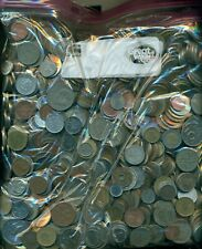 100 POUNDS of ASSORTED WORLD COINS...NICE VARIETY!