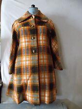 Manteau / cape femme orange années 1970 vintage  coat / caps vintage 1970