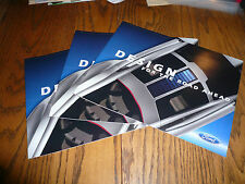 2006 Ford Concept Vehicles & Shelby & Edge Sales Brochure - Lot of 3 Brochures
