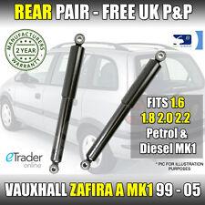 Vauxhall Zafira A MK1 2.0 Dti Di 99-05 Rear Shock Absorbers  X2 Shockers Shocks