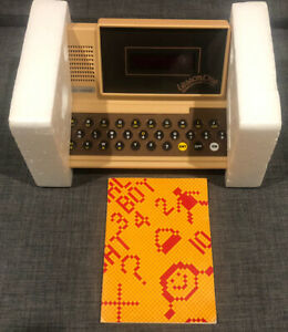 VTech Lesson One Talking Computer Complete In Box With Book 80s