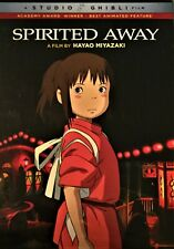 Spirited Away Dvd Hayao Miyazaki - Brand New With Bonus Features - Free Shipping