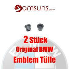 2x Original BMW Logo Emblem Tüllen Tülle 82mm E87 E93 E60 E64 E66 X1 X3 X5 X6 Fx