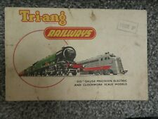 More details for vintage tri-ang railways catalogue 1955 first edition