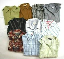 Wholesale Bulk Lot 10 Womens Small 4/6 Button Front Shirts Career Blouses Tops
