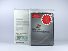 Windows Small Business Server 2003 Premium mit 5 Clients Systembuilder