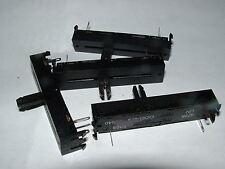 4 x 470R lin curseur pot 60mm Egen 501-00005 linéaire Contrôle Potentiomètre 471