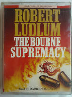 ROBERT LUDLUM.THE BOURNE SUPREMACY.READ DARREN McGAVIN.2 X TAPE ABRIDGED 3 HRS