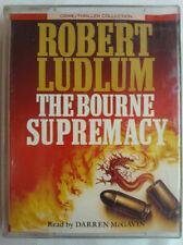 ROBERT LUDLUM.THE BOURNE SUPREMACY.READ DARREN McGAVIN.2 X TAPE ABRIDGED 3 HRS