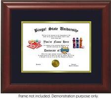 Bingo Diploma - Personalized with your Name/Date- Best on eBay. BINGO!!!!