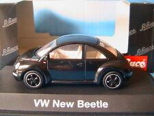 VW VOLKSWAGEN NEW BEETLE 1997 BLACK MAGIC SCHUCO 04534 1/43 COCCINELLE NOIR
