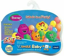V Smile Baby cartridge: Barney - Let's Go to a Party!  NEW
