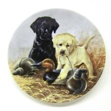 """1988 """" A Perfect Set - Labrador Retrievers """" Field Puppies Collection"""