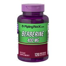BERBERINA HCL 400 mg 120 Capsulas - BERBERINE
