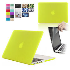 Rubberized Hardshell Hard Case, Cover with Screen Protector for Apple MacBook