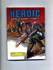 HEROIC # STORIE DI GUERRA A FUMETTI # N.1 Gennaio 1973 # Edizioni Alhambra