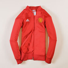 Adidas Junge Kinder Sweater Sweat Tracktop Gr.152 Manchester United FC Rot 37184
