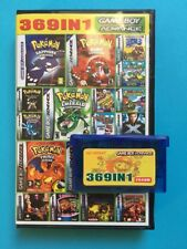 369 In 1 Nintendo Gameboy Advance Multi Game Cart Pokemon Mario GBA DS UK Seller