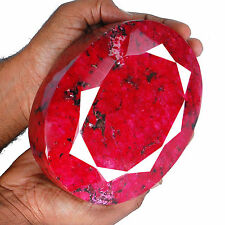 19650 Cts Museum Size Natural Ruby Huge Vibrant Red Rare Certified Gemstone