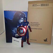 Hot Toys 1/6 Captain America 2012 Avengers Version - Chris Evans