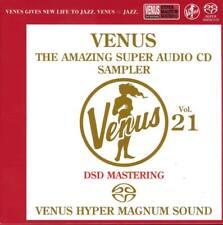 """Venus The Amazing SACD Sampler Vol.21"" Japan Venus Records DSD SACD CD New"