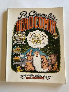 R Crumb's Head Comix by Robert Crumb 1968 Paul Krassner Viking $2.50 Cover Price